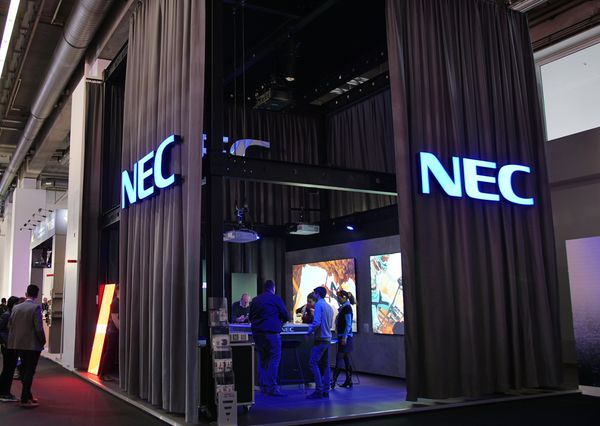 Prolight + Sound 2019 G+B Prolight + Sound 2019 NEC stand