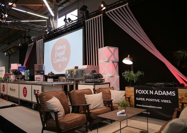 Swoofle exhibition stand Culinary Stage