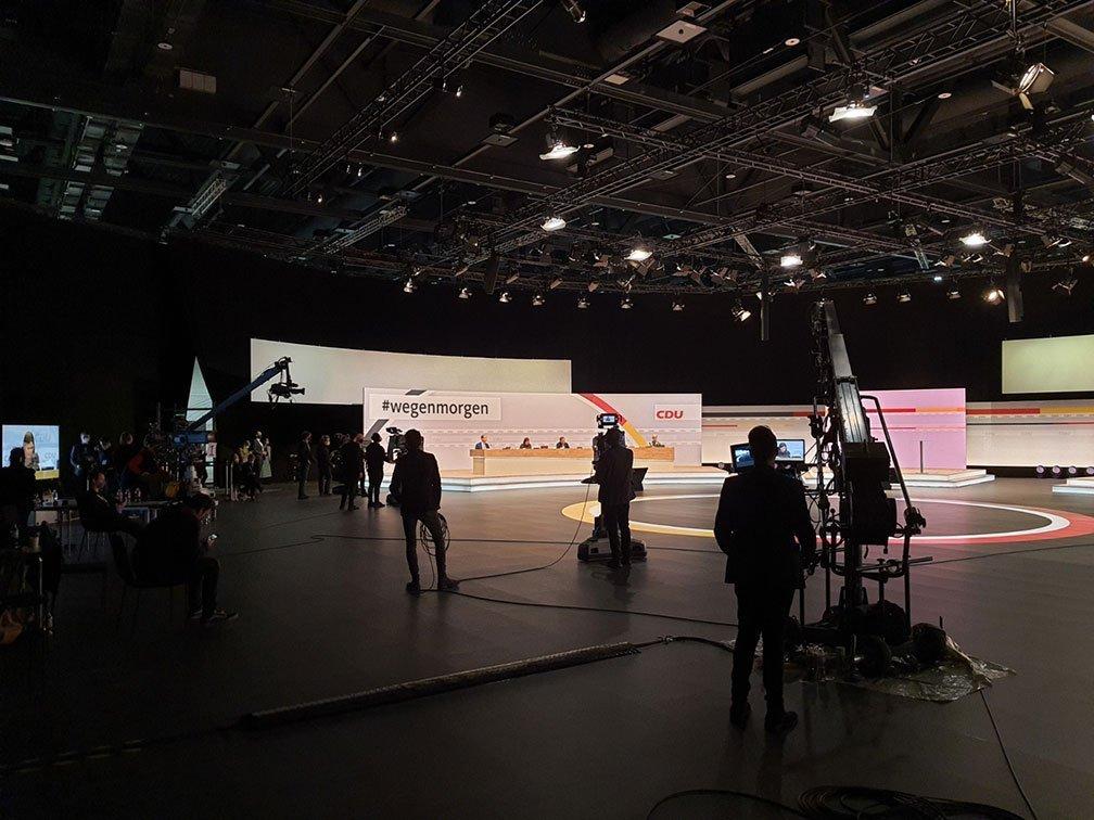 CDU Parteitag Kamera Tean