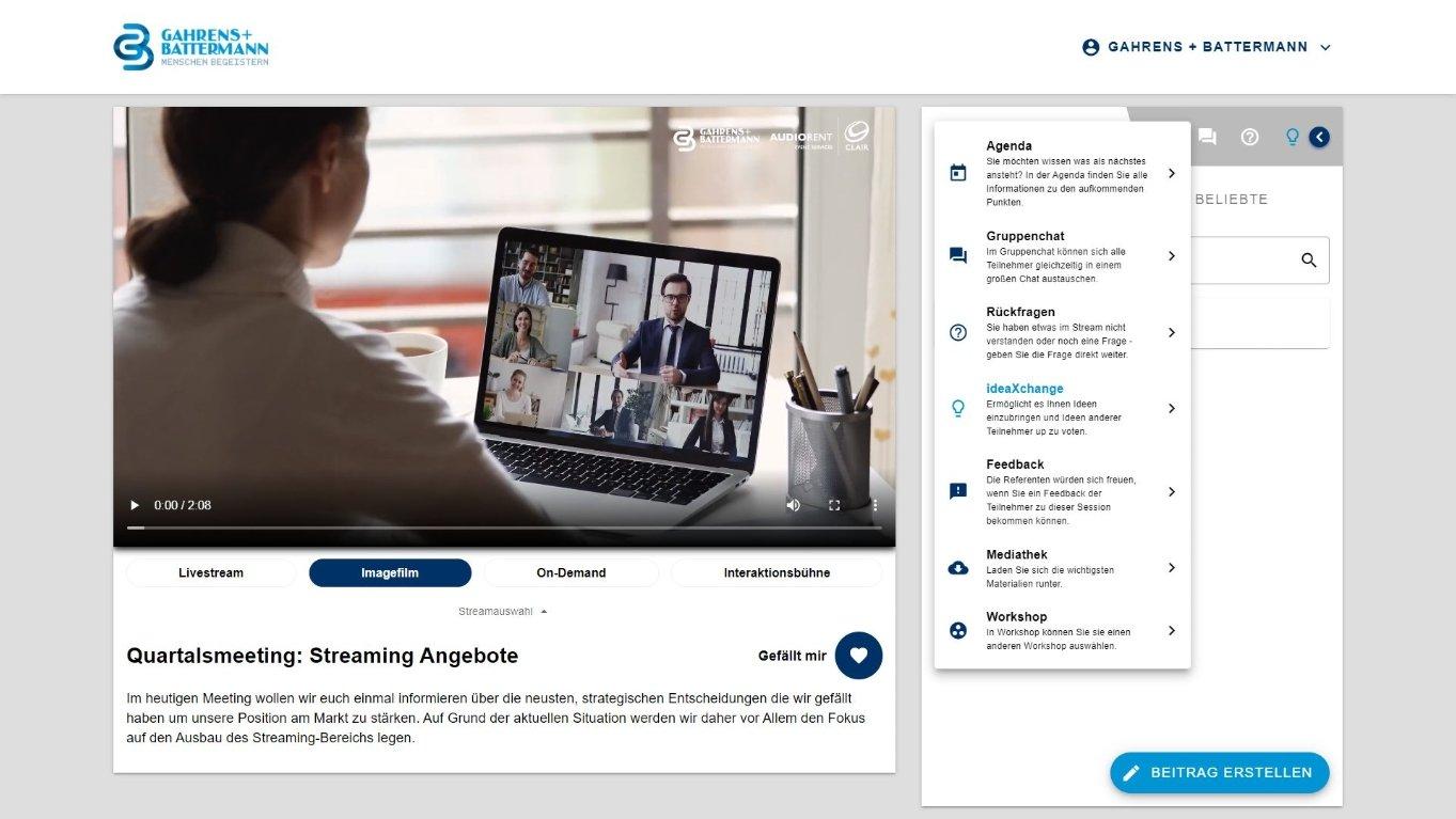 Streaming Portal