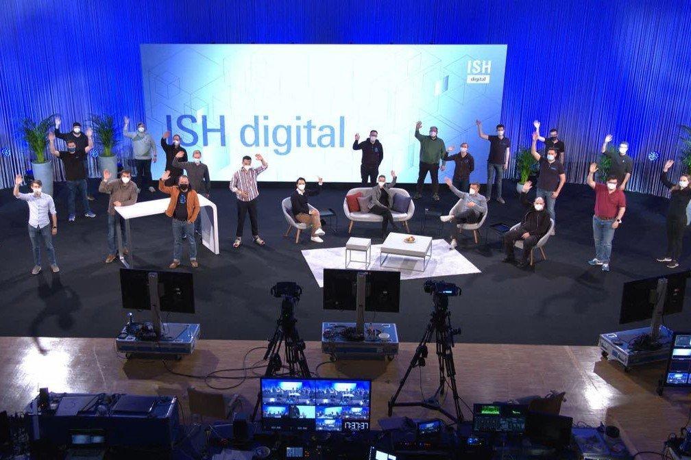 ISH digital 2021 Messe Frankfurt Team Gahrens