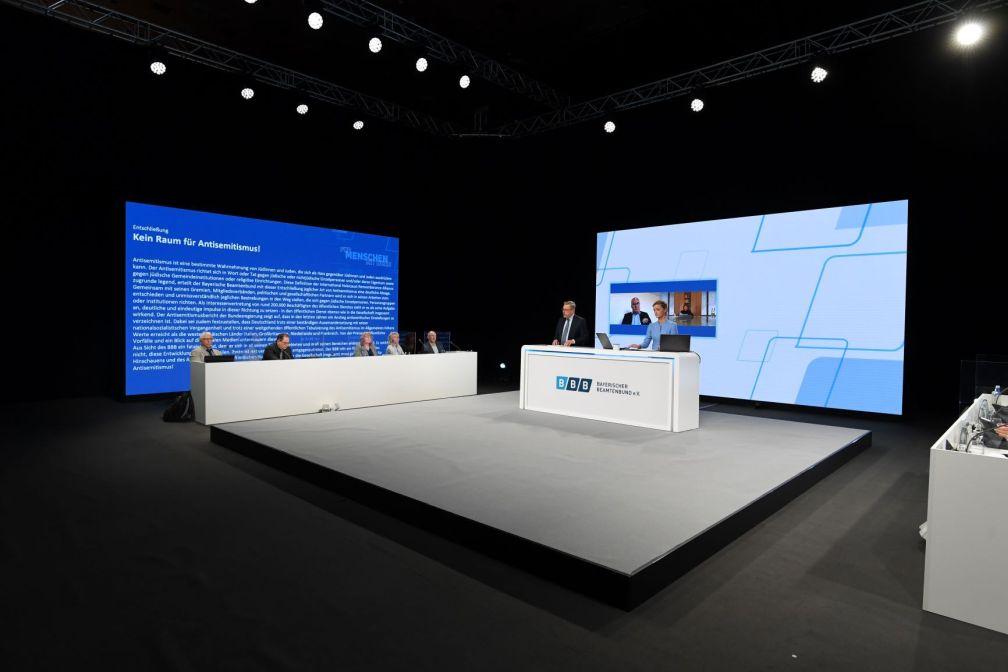 Bayerischer Beamtenbund 2021 Delegiertentag Led