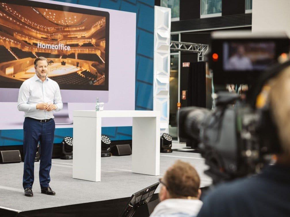 Gothaer Versicherung Topseller Forum Bühne