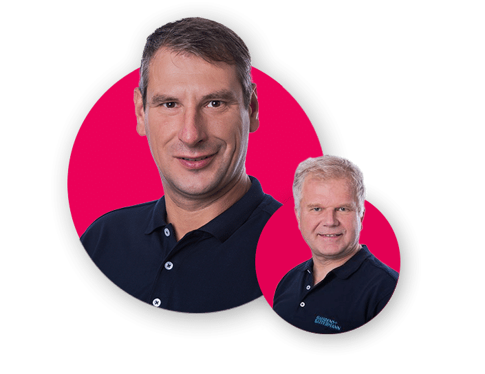 Wolfgang Heiss und Christian Lauscher